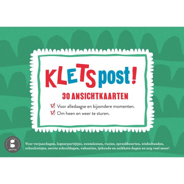 Kletspost cover