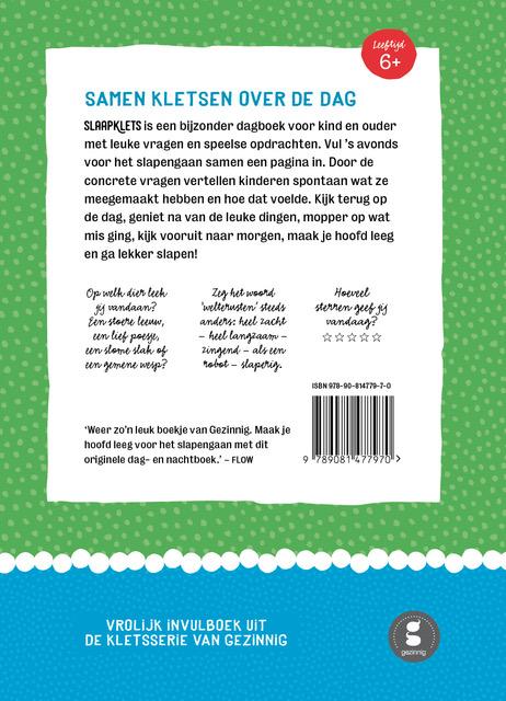 Slaapklets deel1 backcover