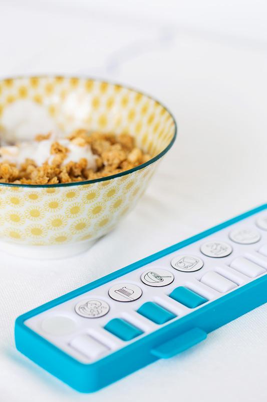 checkpad blauw ontbijt
