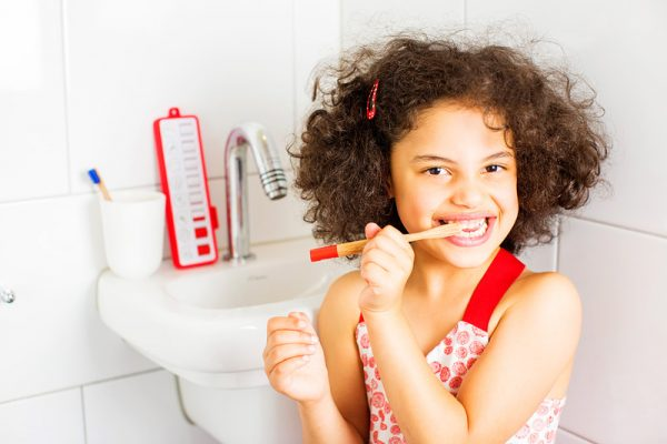 gezinnig checkpad tandenpoetsen