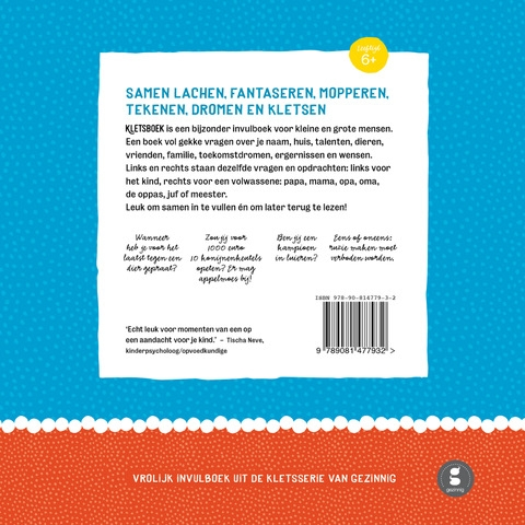 kletsboek backcover